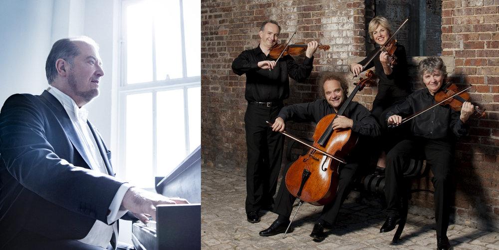 March 19 - Takács String Quartet & pianist Garrick Ohlsson