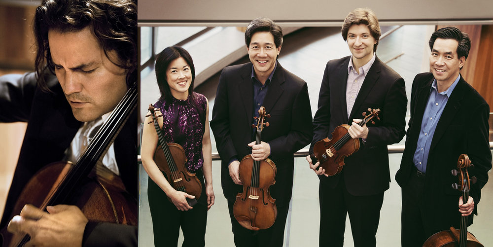 April 26 - Ying Quartet & cellist Zuill Bailey