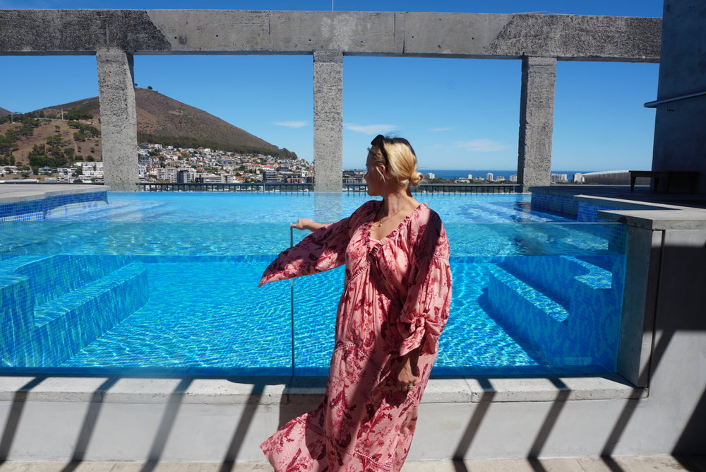 - A bird's eye view of Capetown from the Hotel SiloDress: Topshop