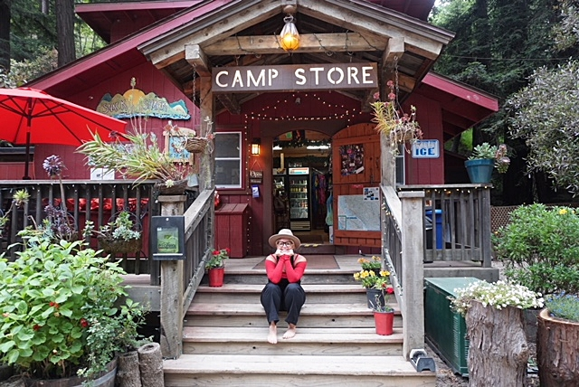 The Camp Store at The Riverside Cabins! How cute is this place!?