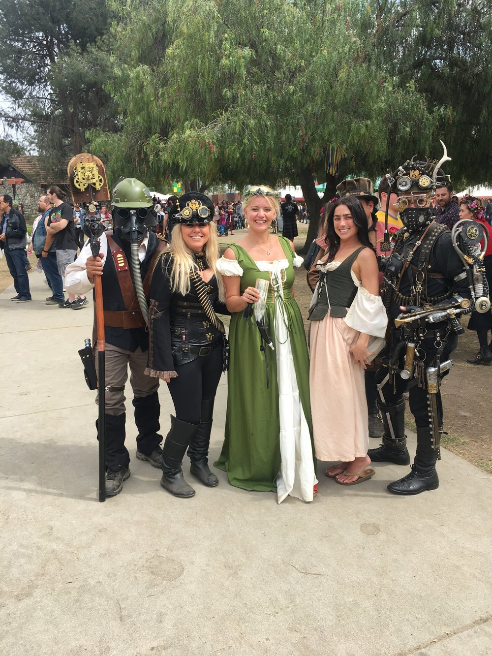 Captured with the Steampunk kids!