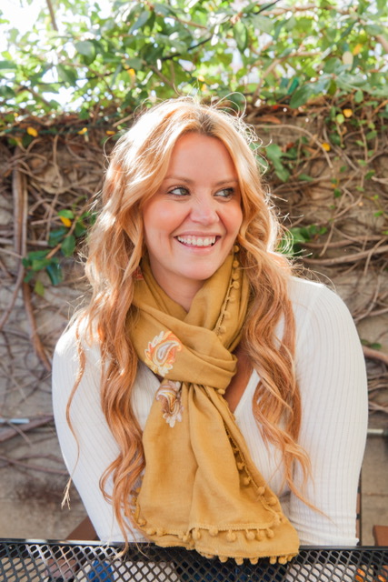 Loving this scarf from The Lulla Collection! Such a pretty color!    Price: $24.00- The Lulla Collection