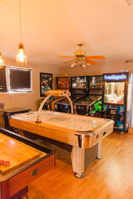 Their epic Game Room!