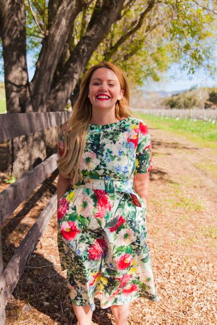 How pretty is this dress from Zara!     Dress: Zara: $89.90