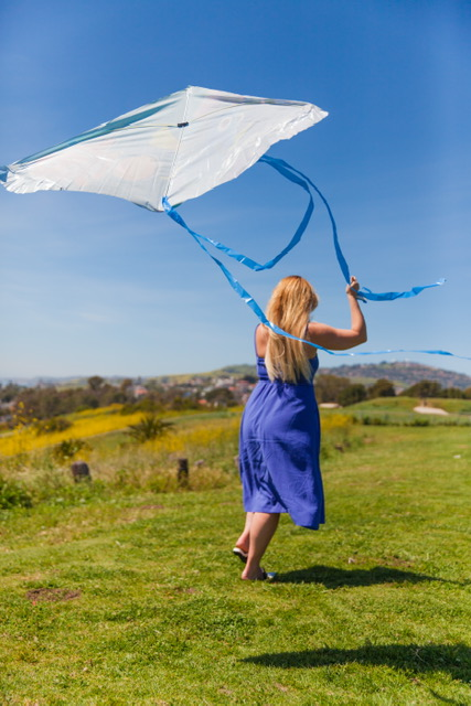 I haven't flown a kite since I was a kid!