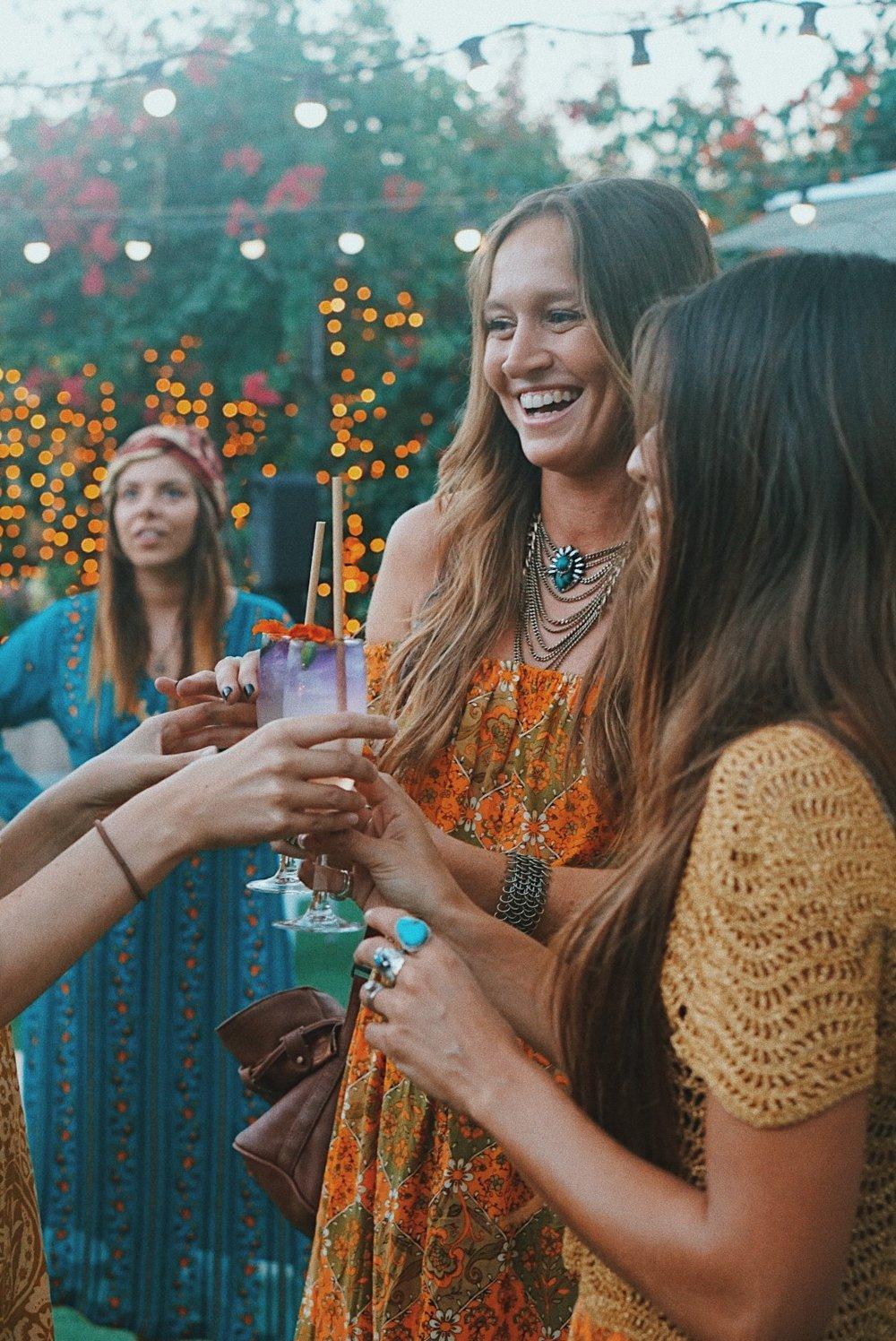 Ink Gin Cocktails at Nine Lives Event.JPG