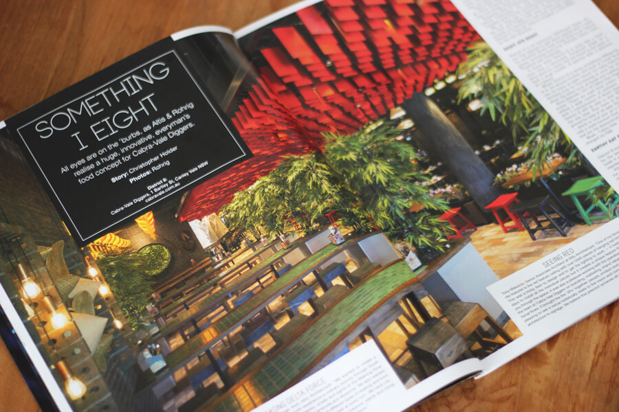Our work regularly makes the pages of hospitality, design and architectural magazines