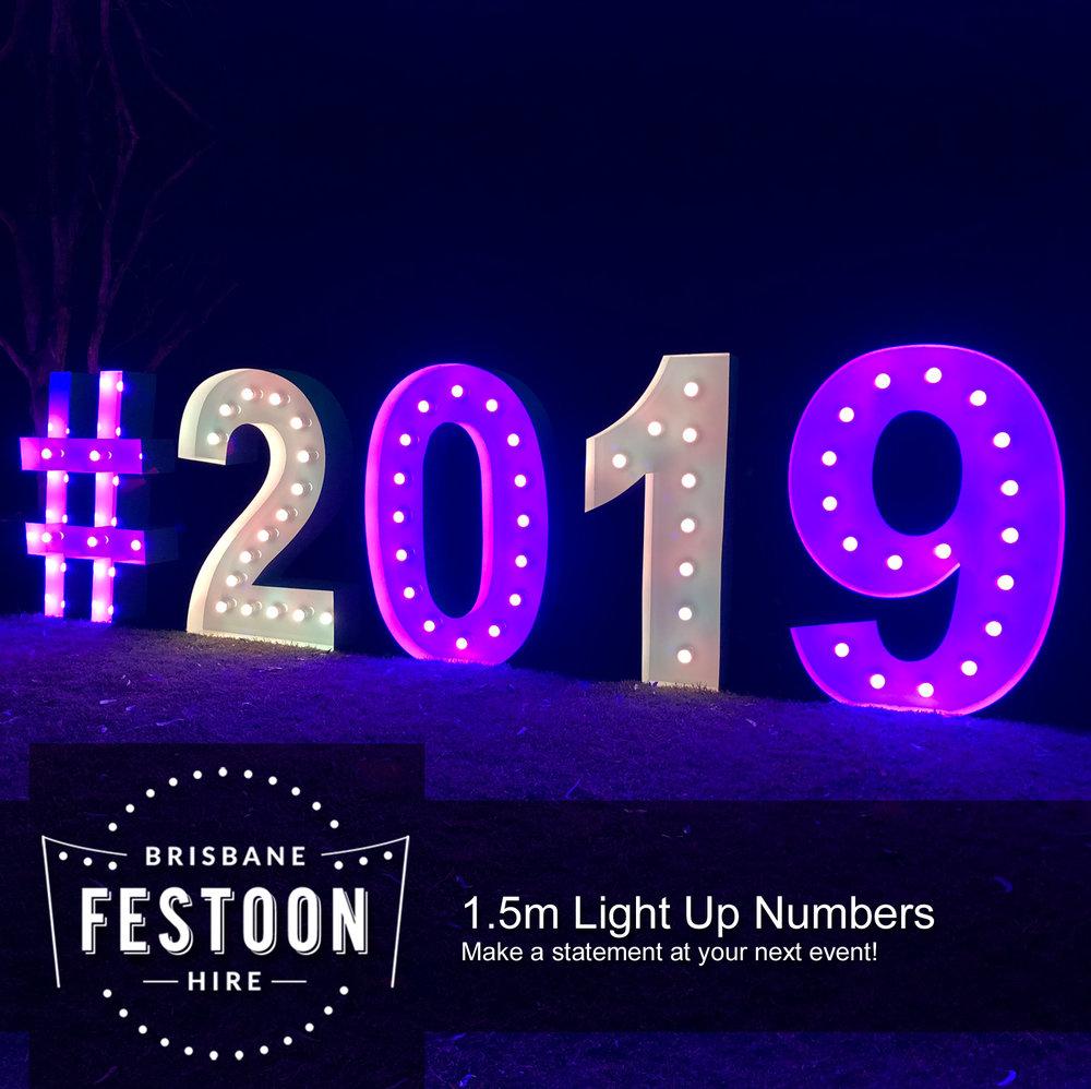 Brisbane Festoon Hire - Light Up Number Hire.jpg