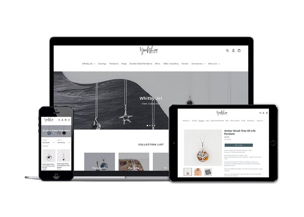 Fully optimised e-commerce platform for Yorkshire Jewellery Company