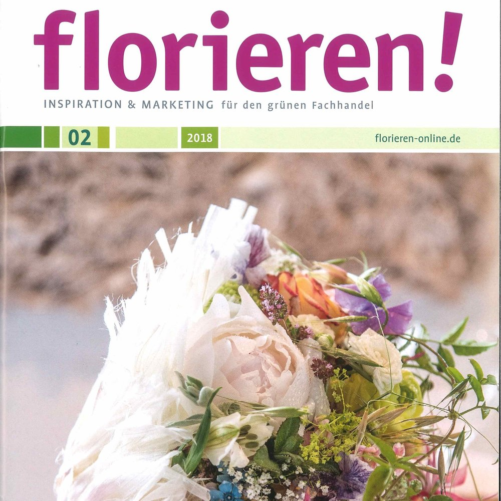florieren!Ulmer Publishing - You can order your copy of the German flower design magazine at Hana Ami