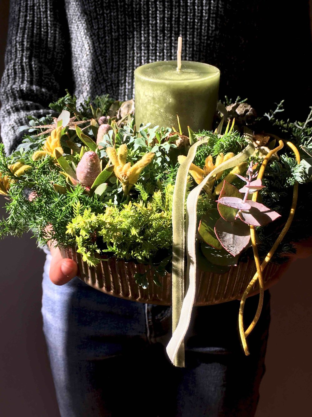 Green Tarte arrangement (image pic)