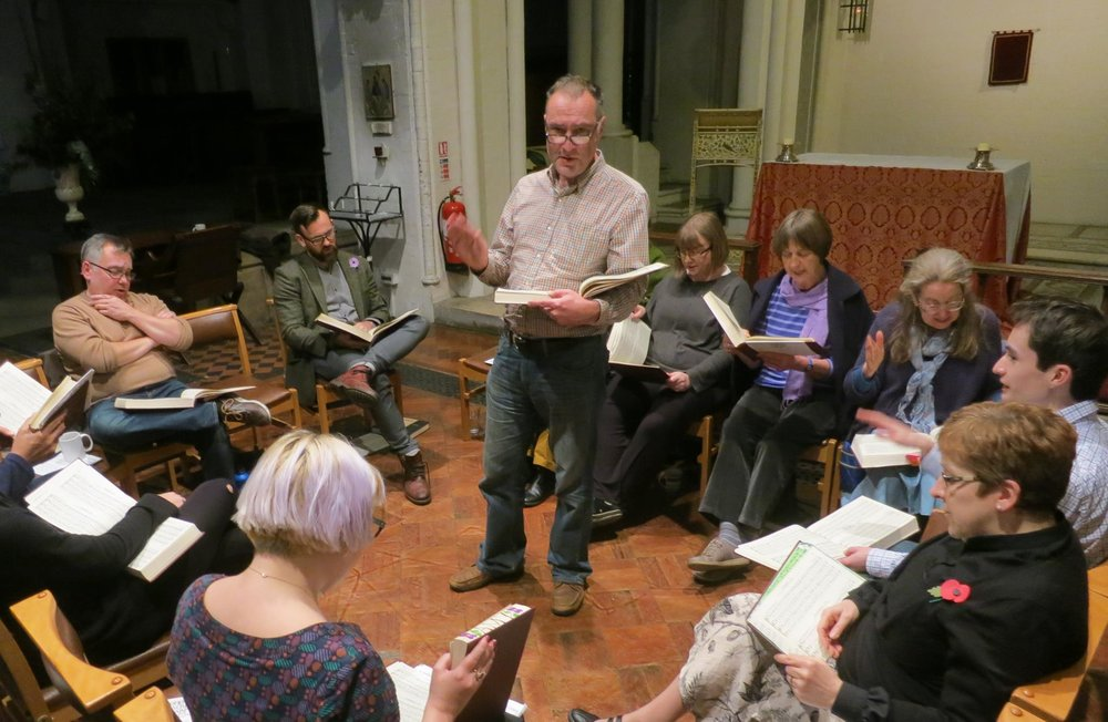 Christian Harmony - London Sacred Harp sings Christian Harmony on the 4th Thursday of every month – 7.30-9.30 pm, in the tradition of a cappella community folk hymn singing from the United States. The Sacred Harp is also the name of one of the books we sing from. The tradition has roots in Europe, but has mainly developed in the American South.