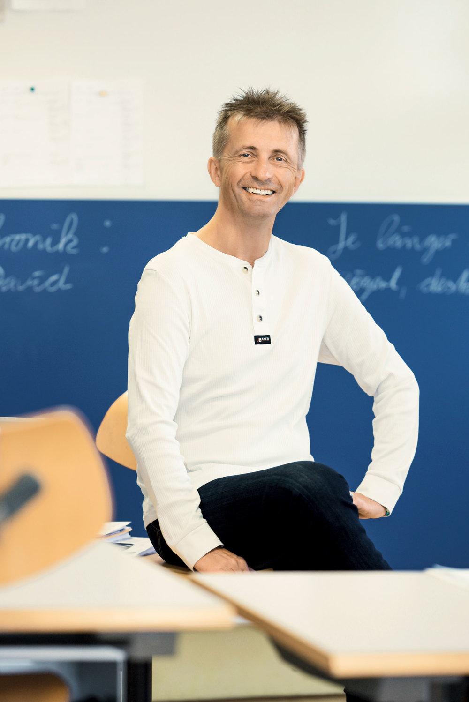 Würde ich mit dem leistungsorientierten Anspruch der Volksschule unterrichten, wären die Jugendlichen innerhalb kurzer Zeit weg. - Oskar Lützow (55)Sonderpädagoge, Haus zum Kehlhof