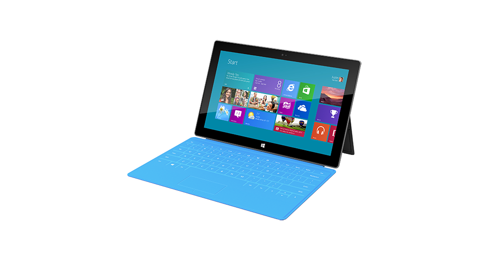 Microsoft Surface Pro    from €54.90 / month