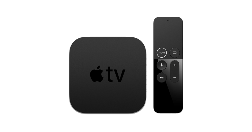 Apple 4K TV      from €14.90 / month