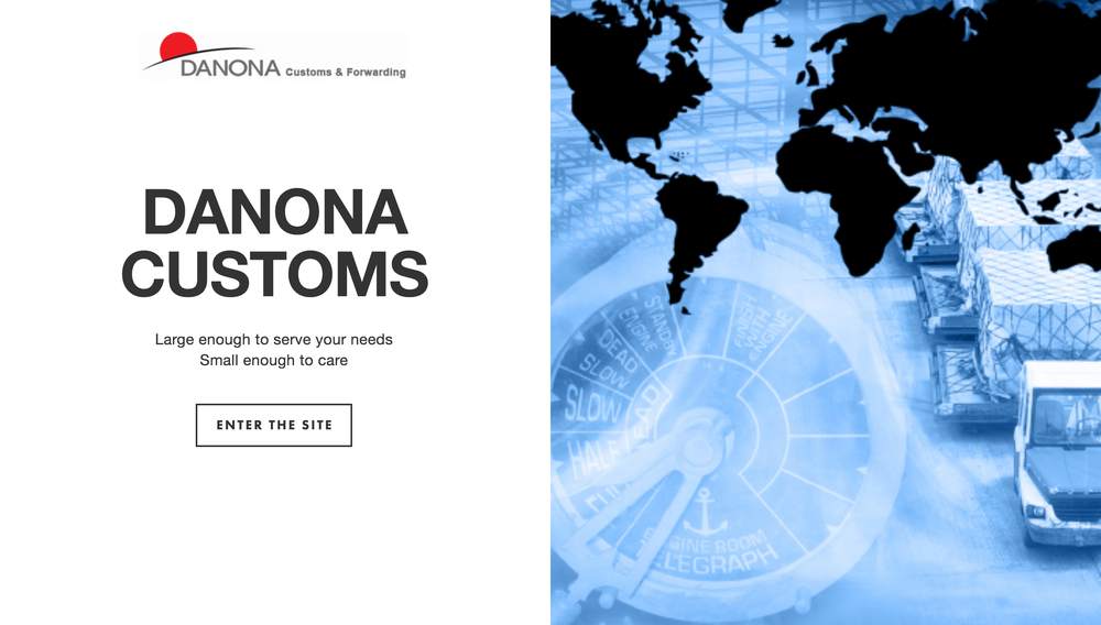 Danona Custom's new website