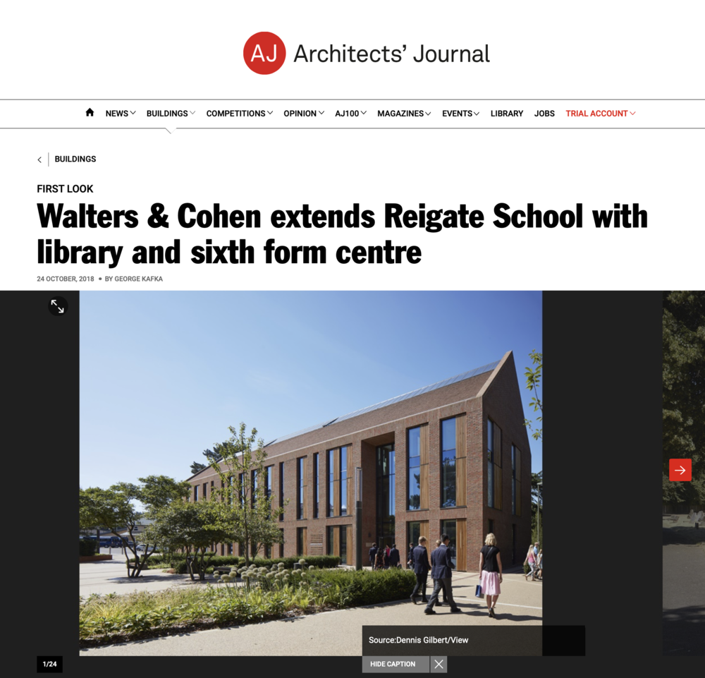 24.10.19 The Architects' Journal
