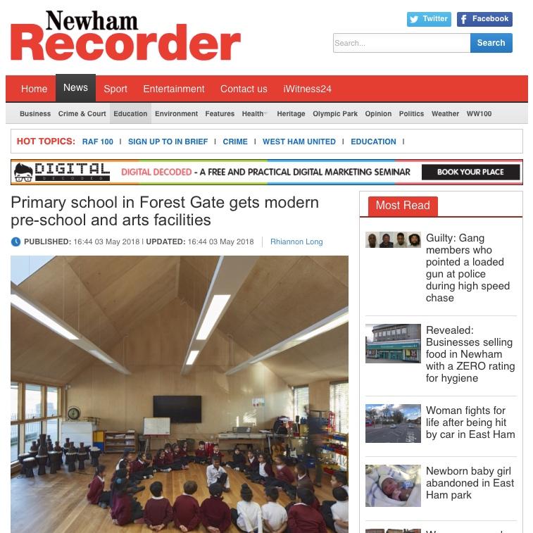 03.05.18 Newham Recorder