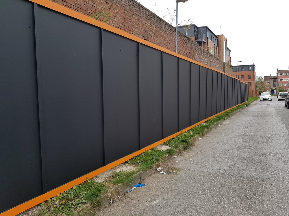 Secure Site Hoardings    Learn More