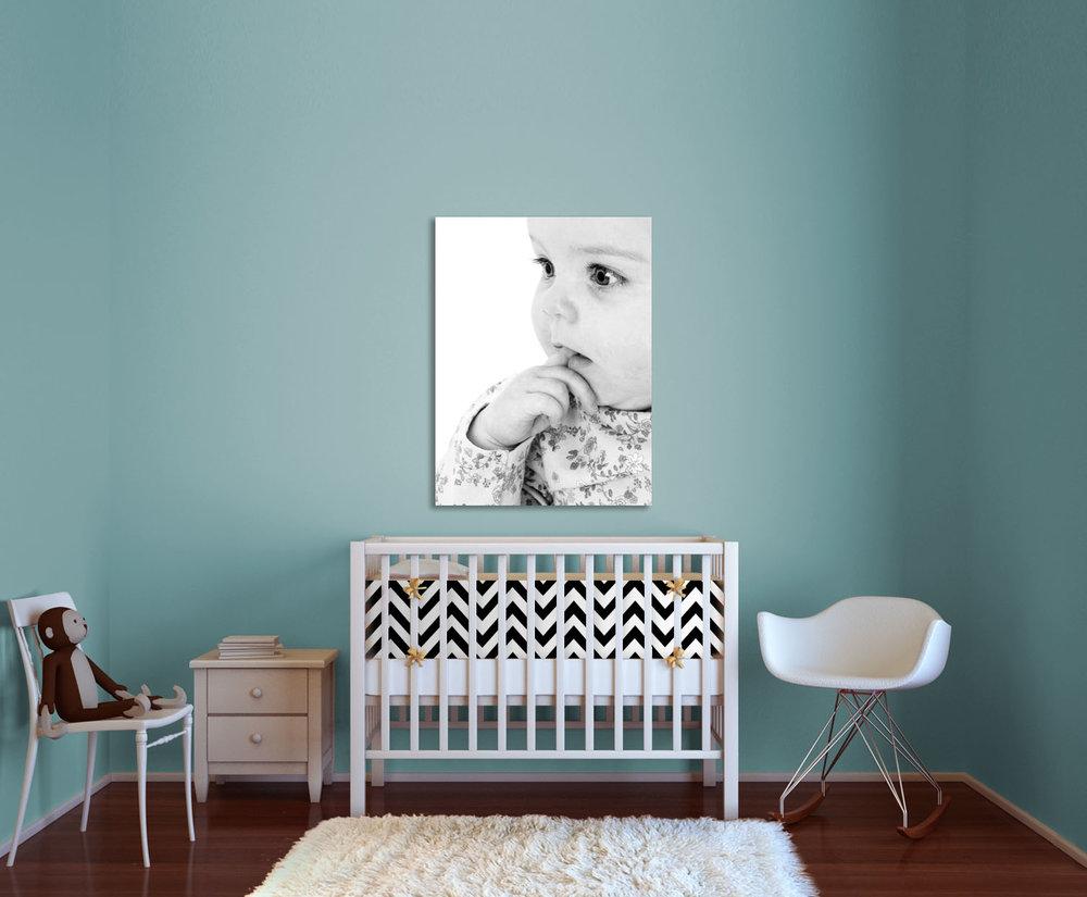 wall art in nursery
