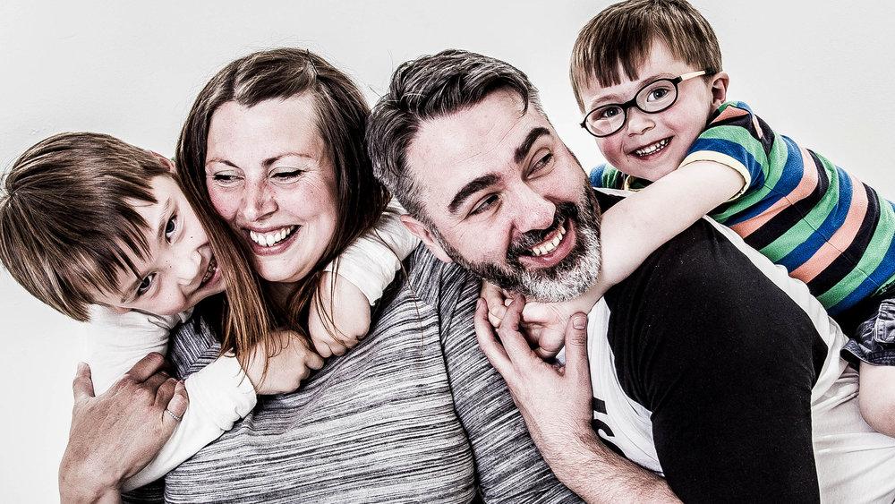 family fun in the studio