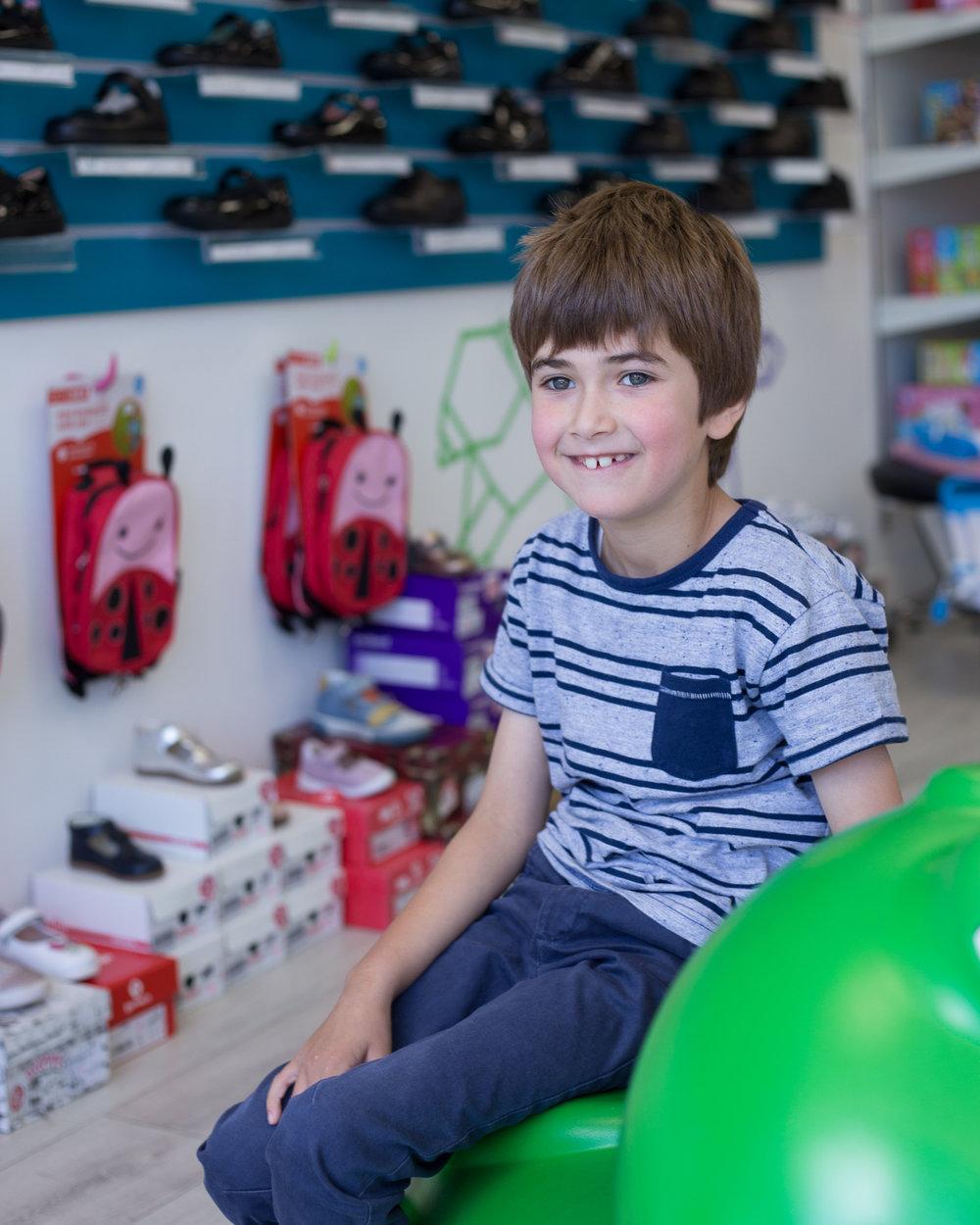children's shoe shop
