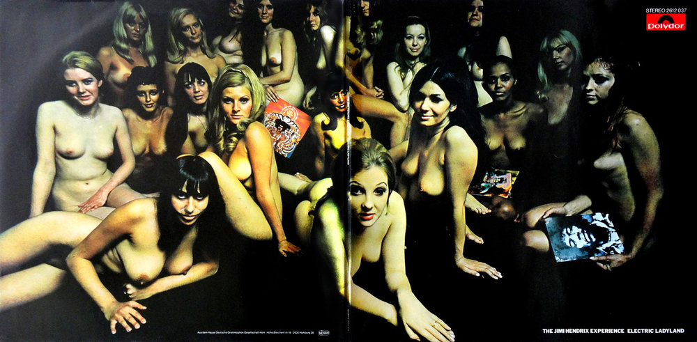David Montgomery,  Elecrtic Ladyland, cover session , 1968