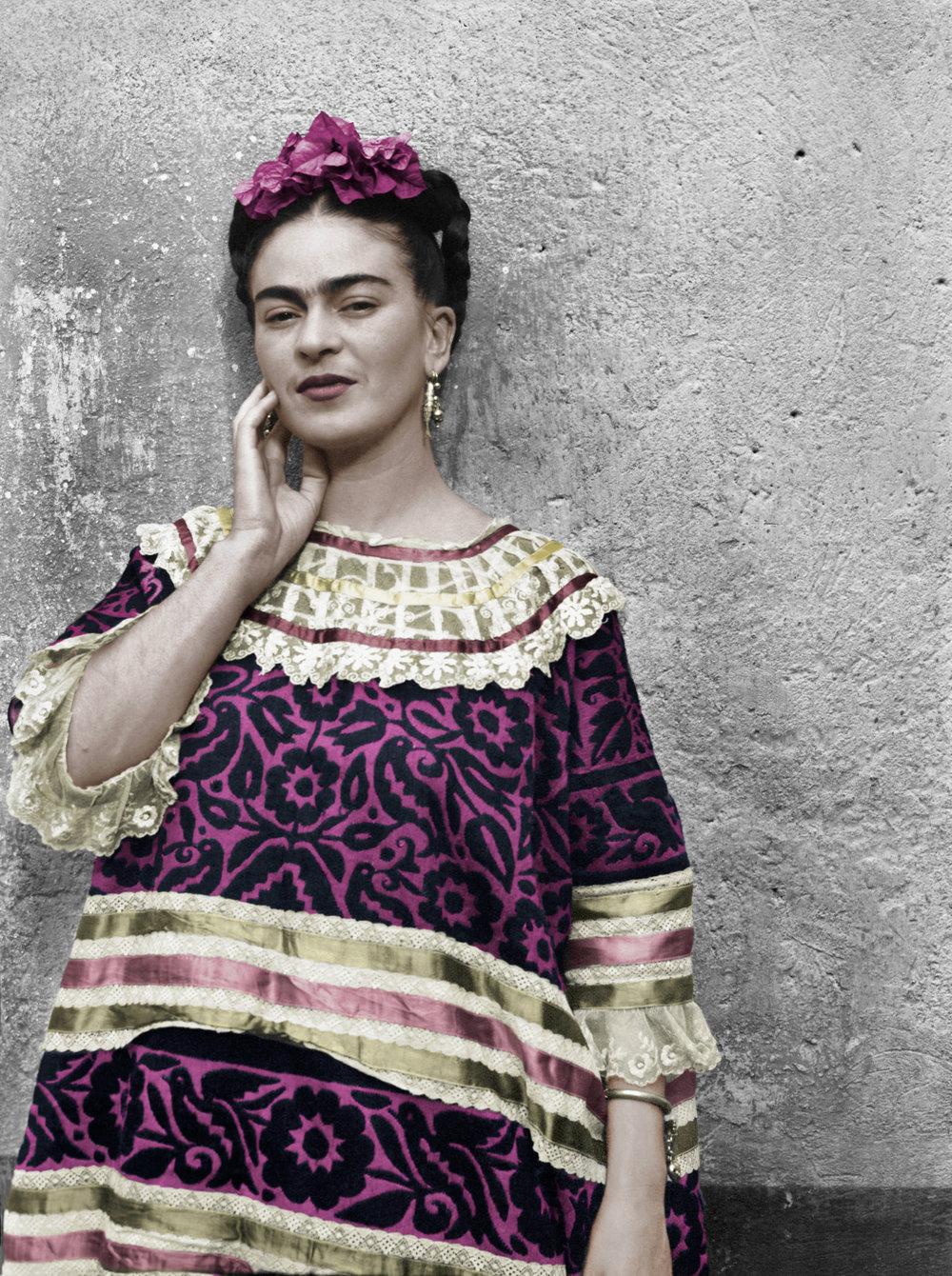 Leo Matiz,  Frida Kahlo nella Casa Azul , 1943