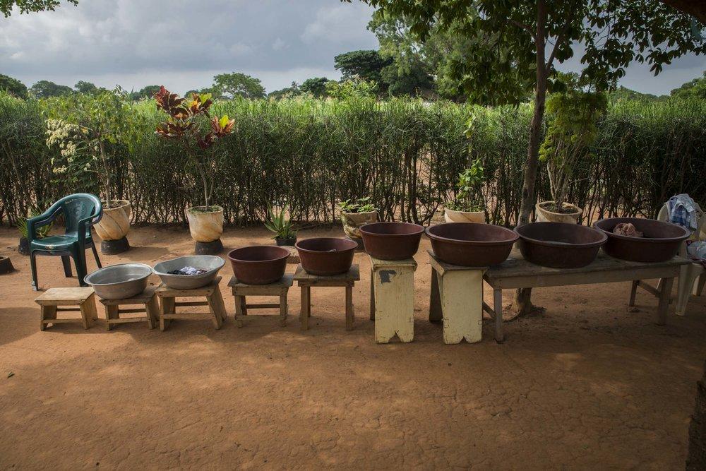 Wash tubs. Ghana, 2014.