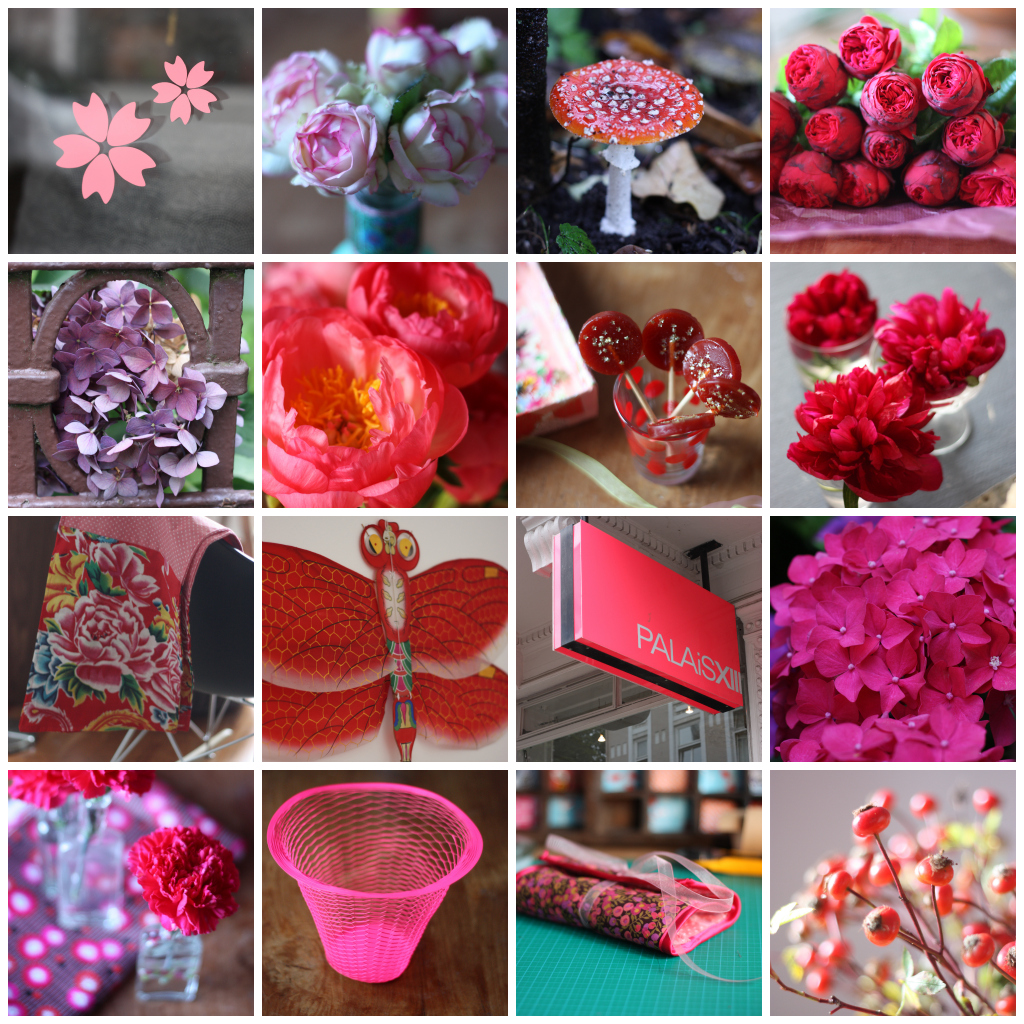 my year in red and pink