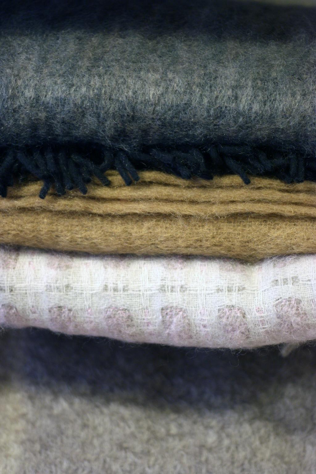 Lovely Mohair blanket by Hijos de Cecilio Valgañón