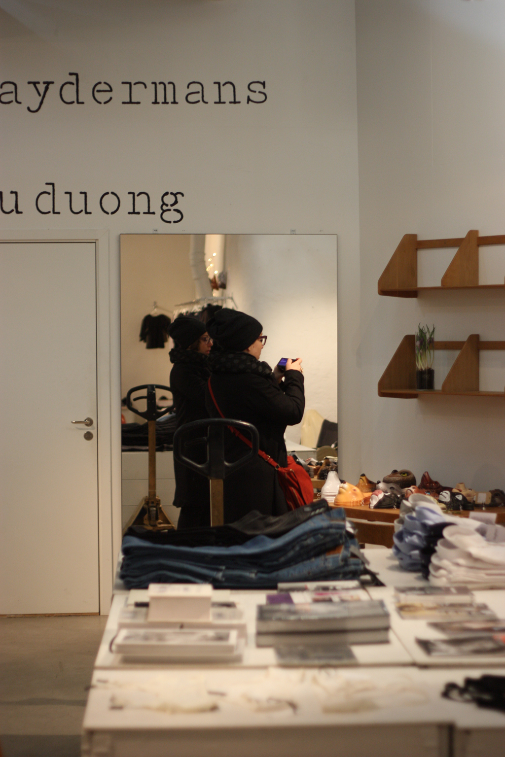 Judith in the shop - where to shop in stockholm by madame love
