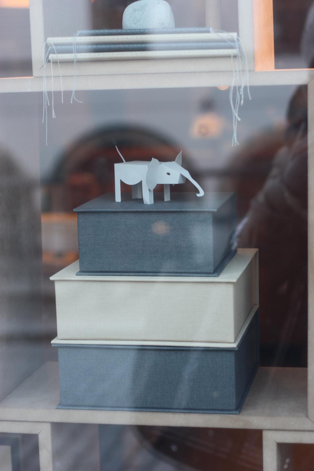 shop window in stockholm