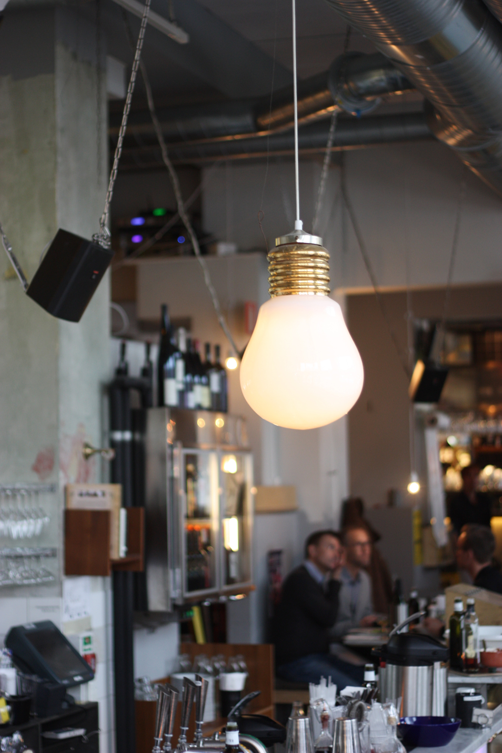 Lamp at Urban Deli