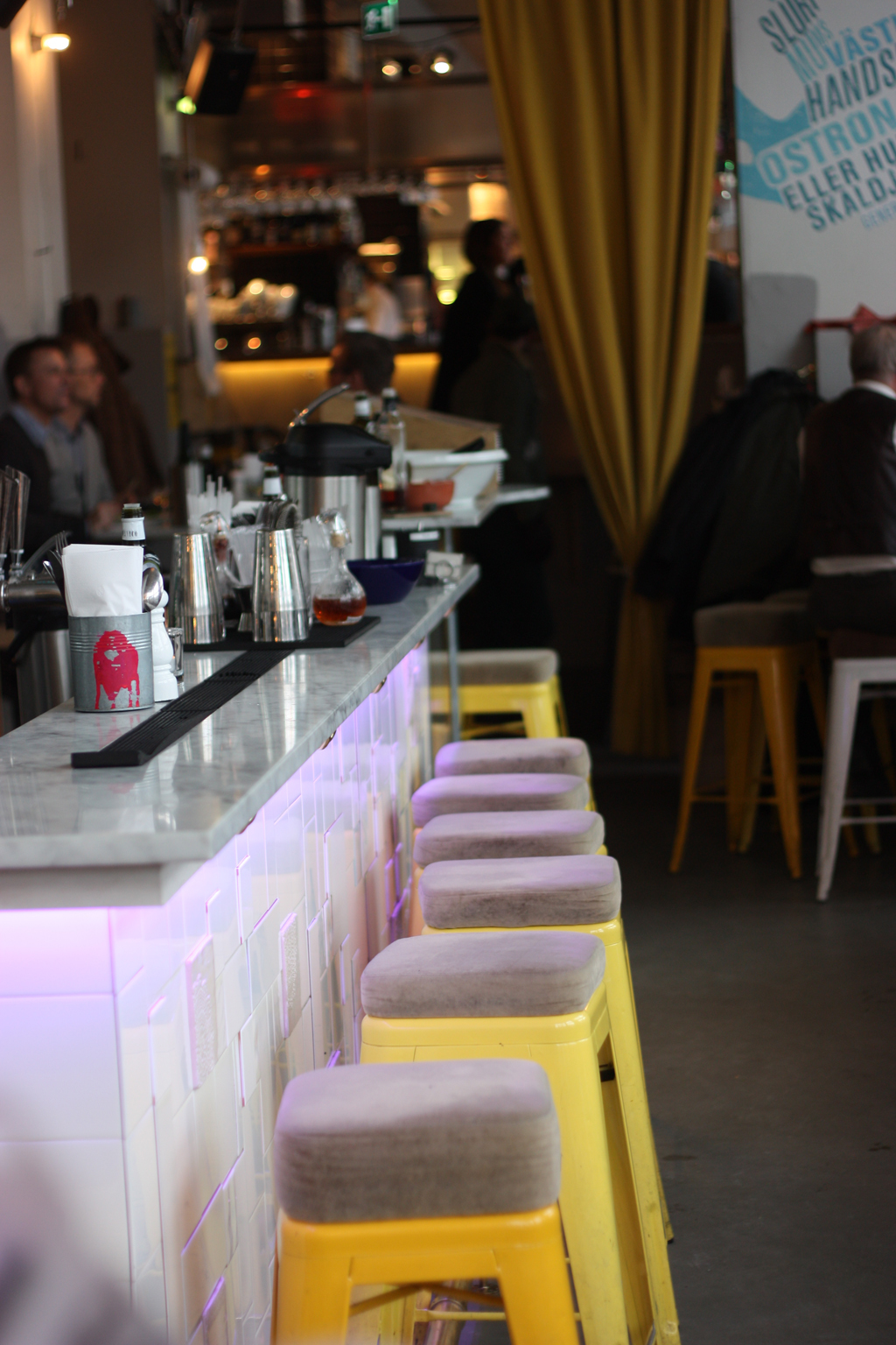 tolix chairs at urban-deli