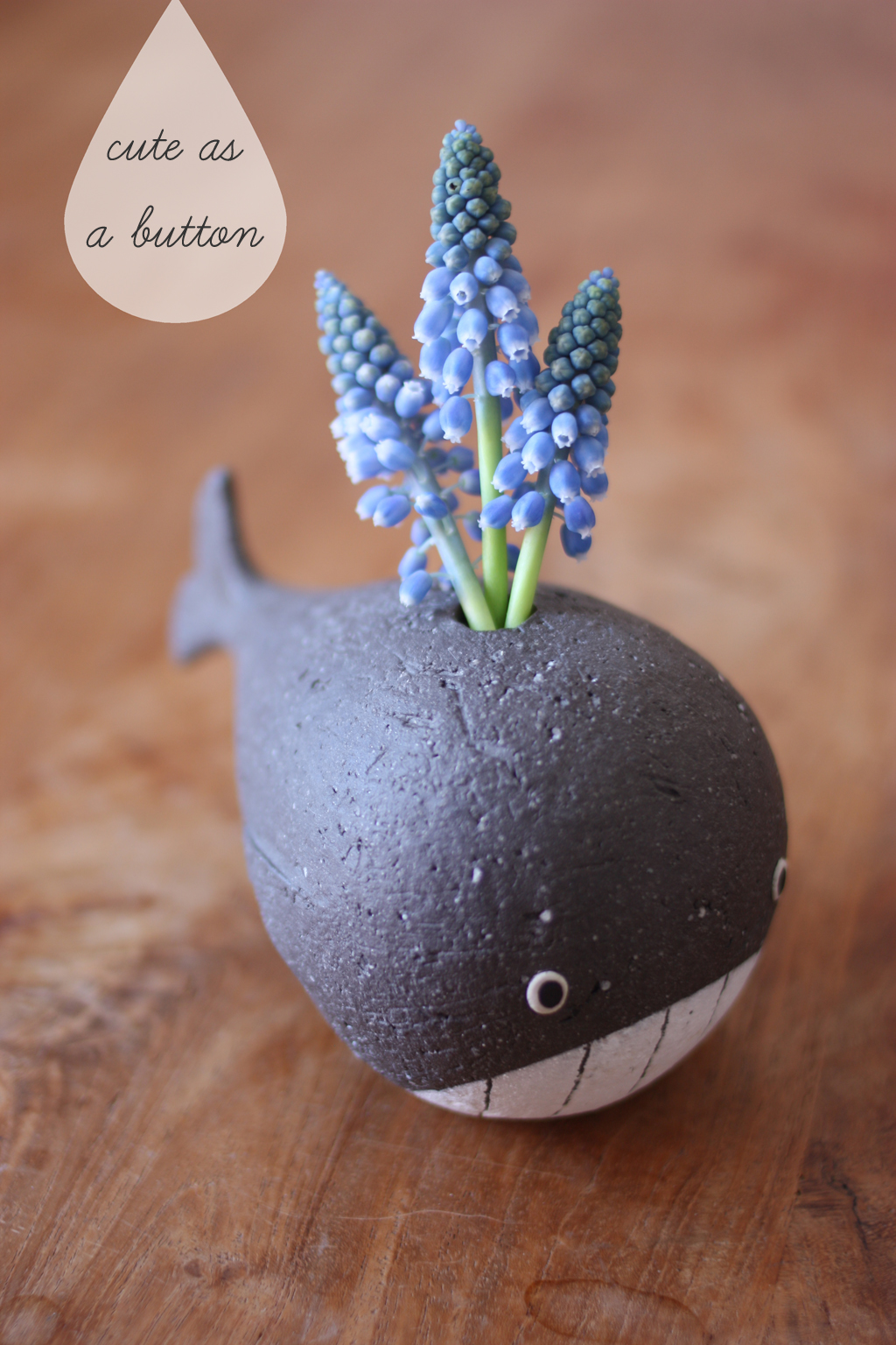 little whale vase from Japan - vase story by madame love