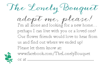Lonely Bouquet - Tag - English