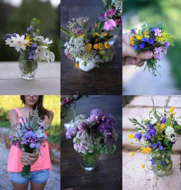 Collage Wildflowers madamelove 2014