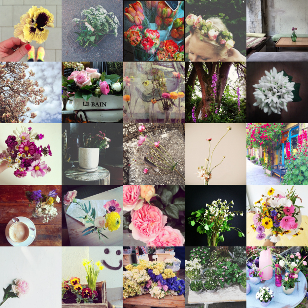 Flowers on my way