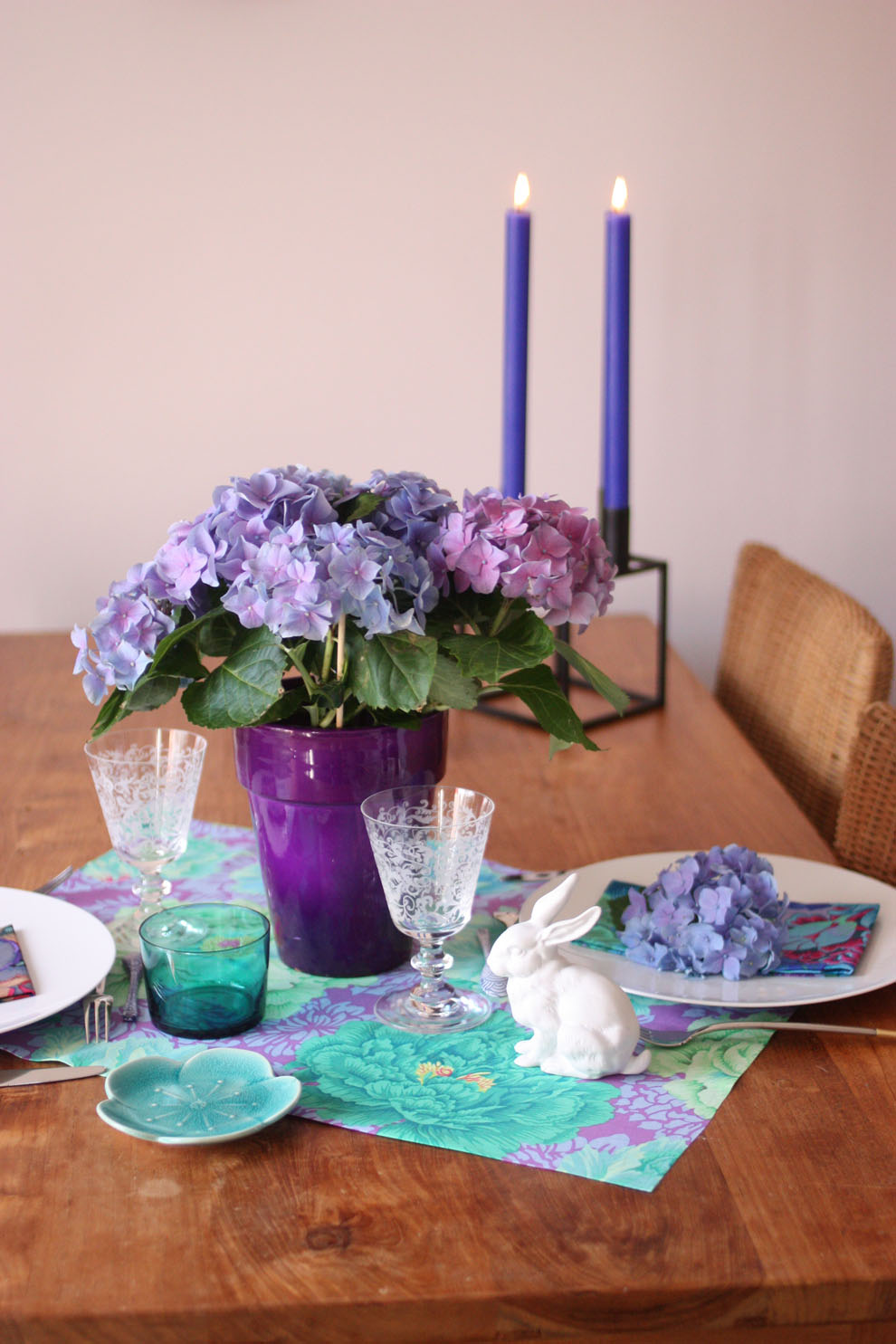 Hortensia_blue_table