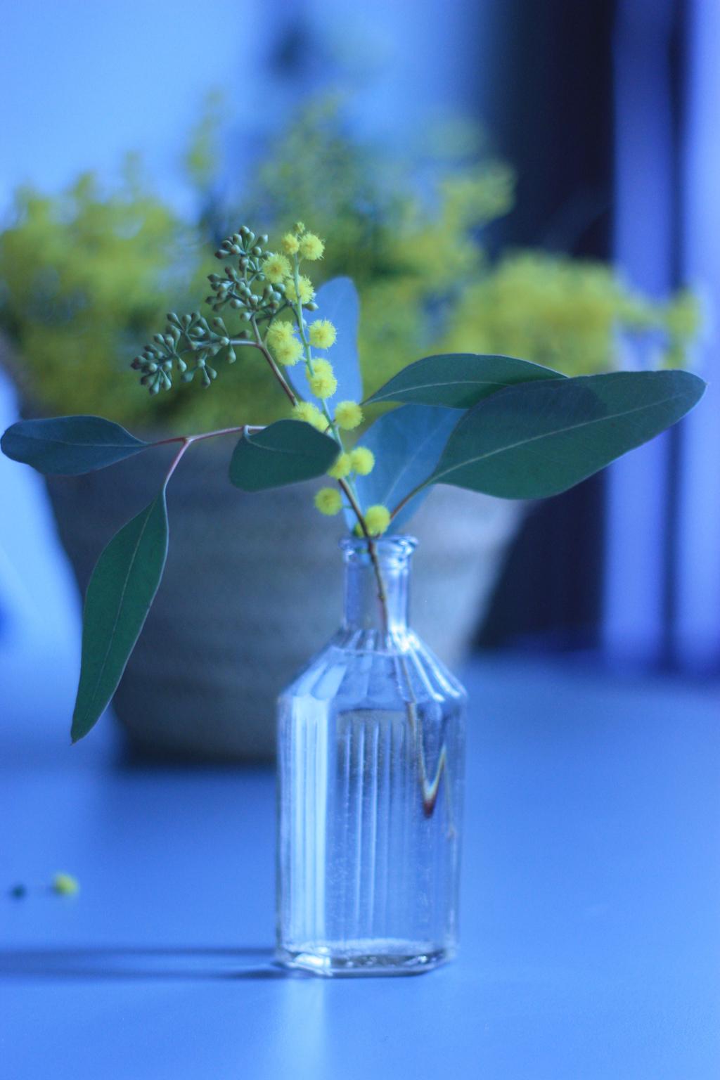 mini bouquet fleurs jaunes