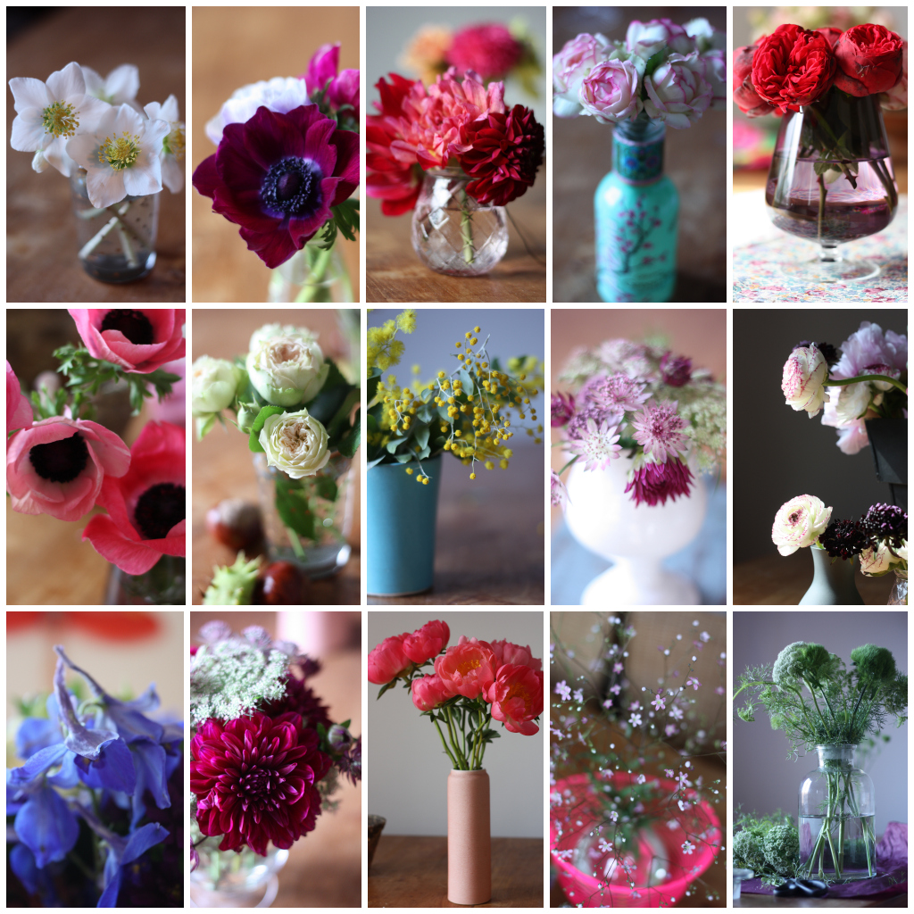 my year in flowers by madame love