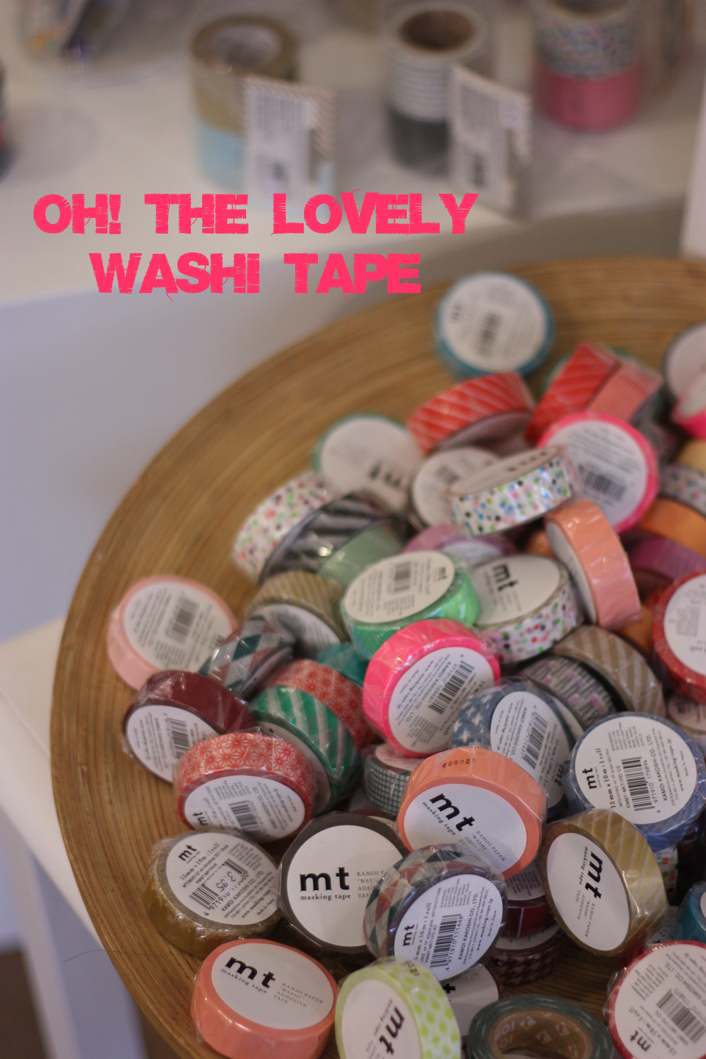 Lovely washi tape at milchmaedchen by madame love