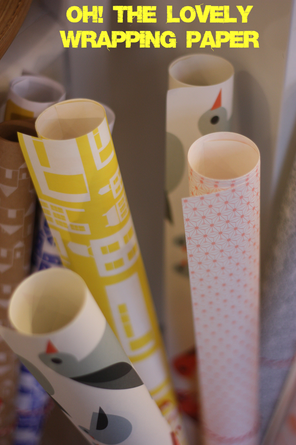 Lovely wrapping paper by madame love
