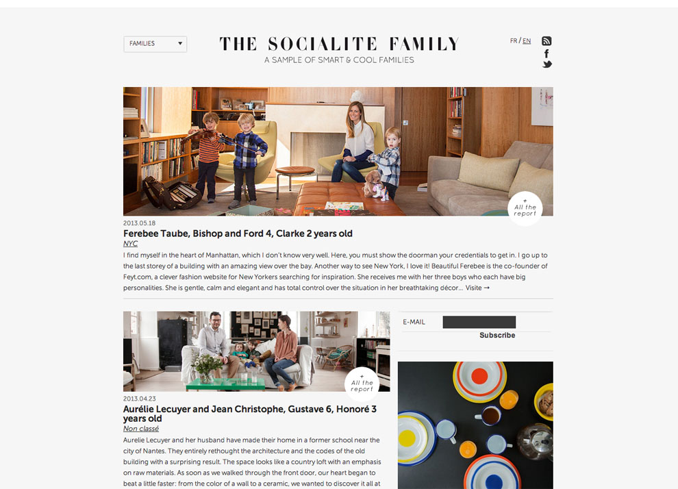 Home   The Socialite FamilyThe Socialite Family   A sample of smart   cool Families