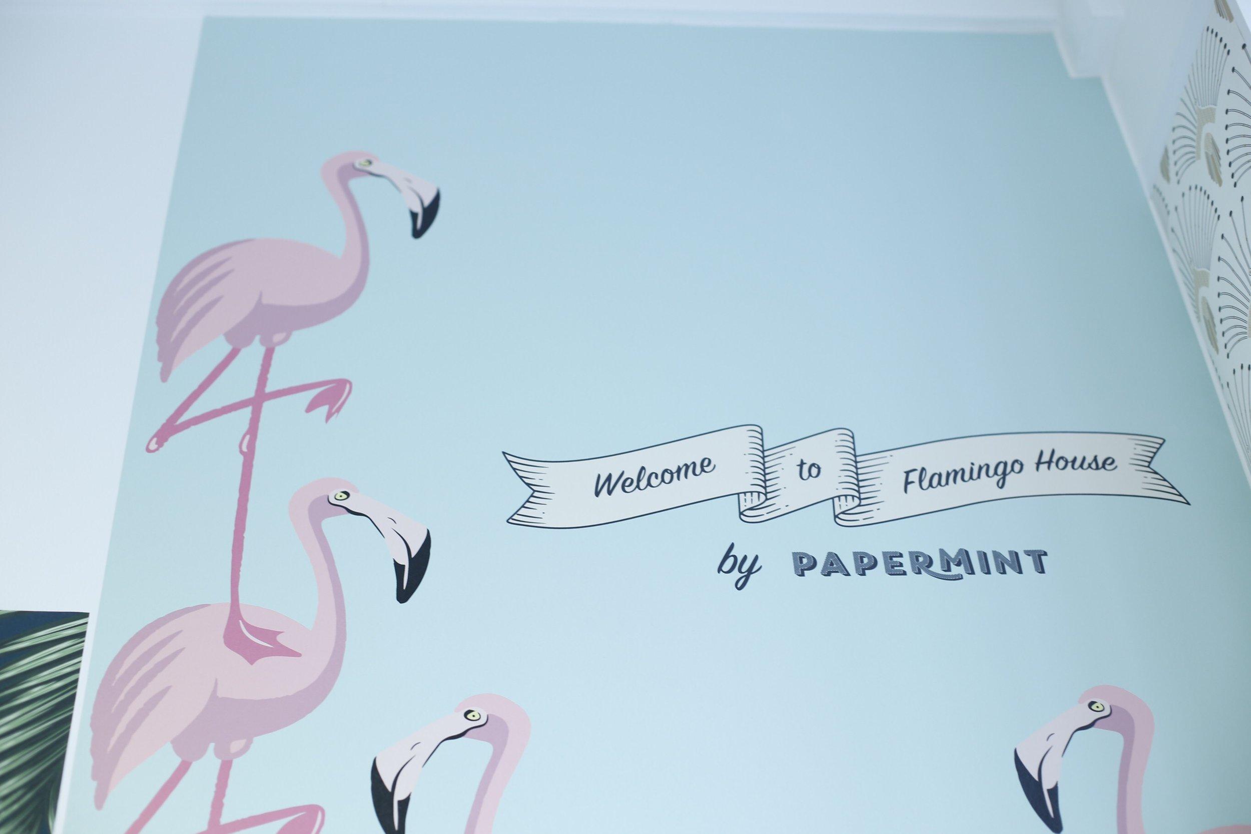 Flamingo by Papermint papier peint