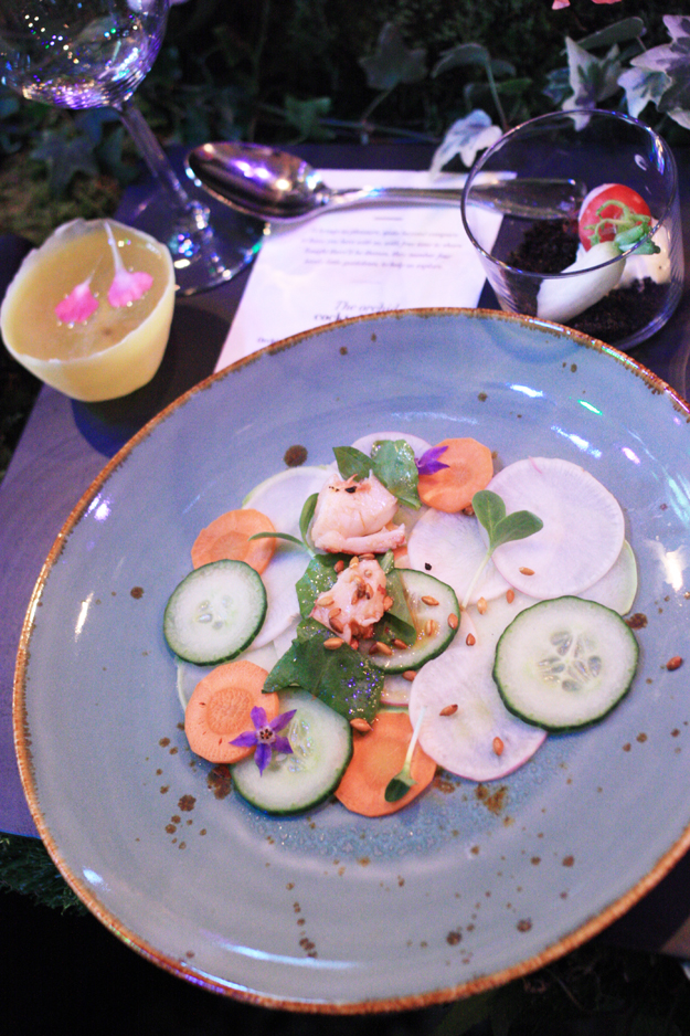 The Green Gallery Launch food