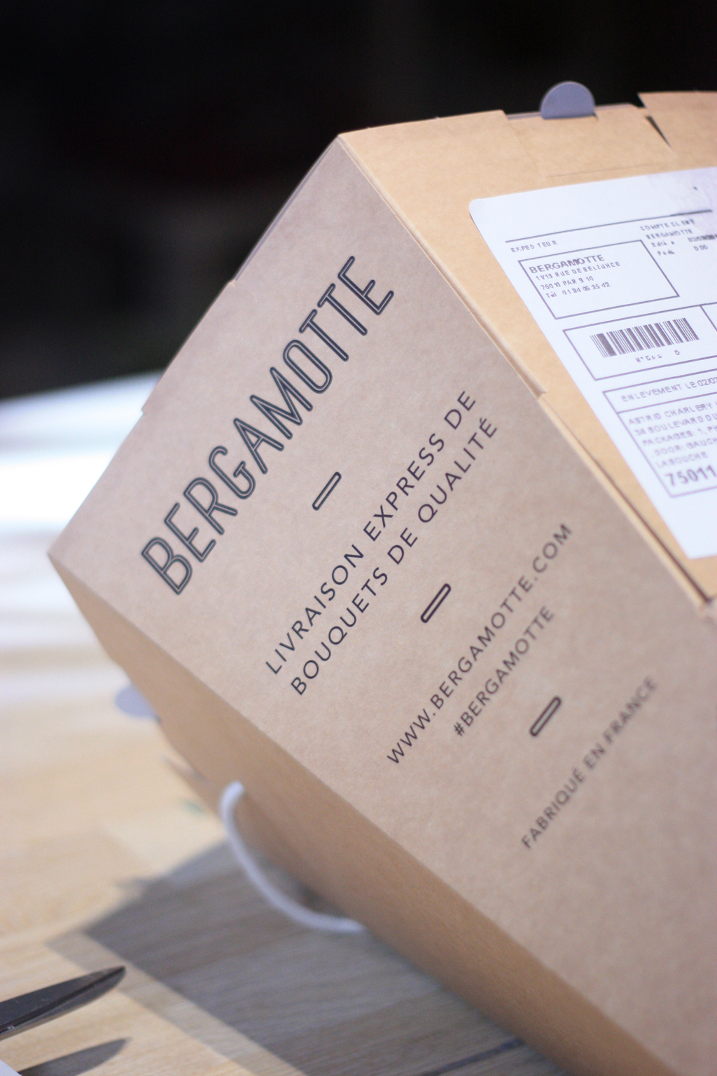 flower packaging bergamotte