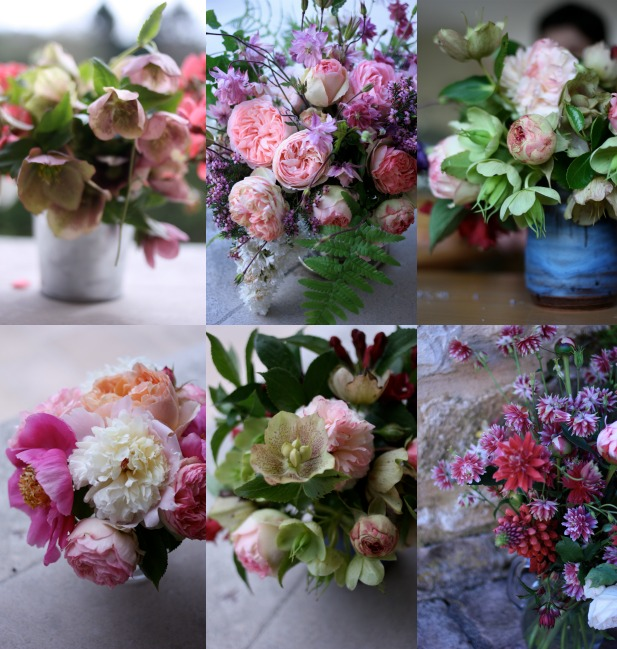 flowers from the garden by madame love