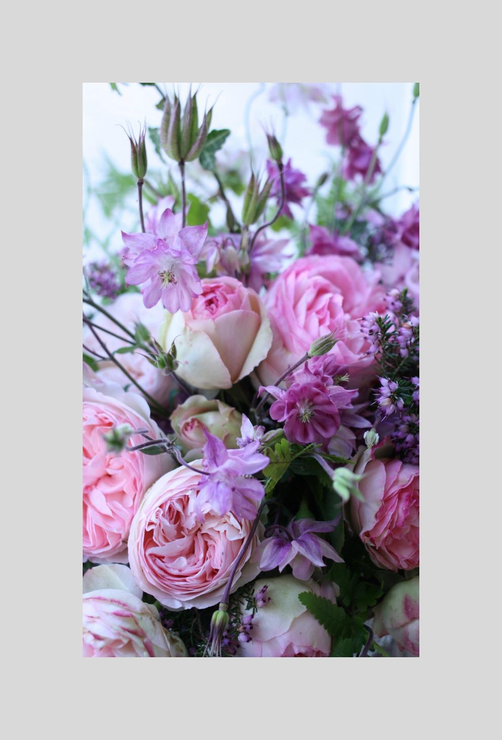 inside the bouquet